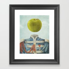 Sgt. Apple  Framed Art Print