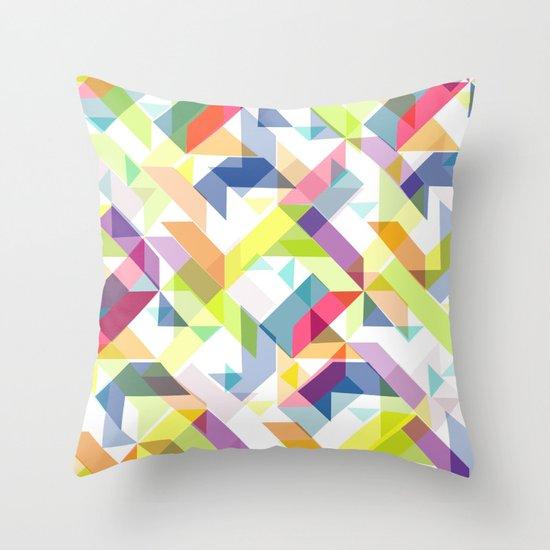 Aztec Geometric II Throw Pillow