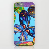 iPhone & iPod Case featuring Butterflies by Annette Jimerson