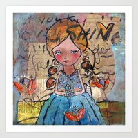 Let Your Love Shine Art Print