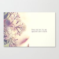 Appointed Bloom Canvas Print