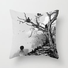 Welcome, Stranger! Throw Pillow