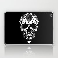 MUSICAL SKULL Laptop & iPad Skin
