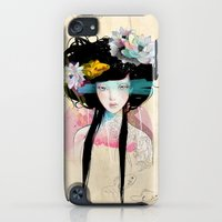 iPod Touch Cases featuring Nenufar Girl by Ariana Perez