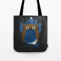 The Earth Owl Tote Bag