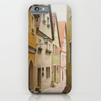 iPhone & iPod Case featuring Italian Alley - Bright Colors by angela haugland