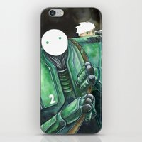 Moonbot #2: Green iPhone & iPod Skin