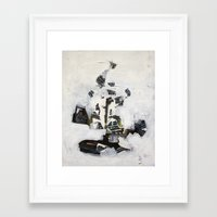 Move Through Faceted Megalopolis  Framed Art Print
