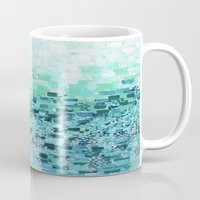 :: Sea Glass Compote :: Mug