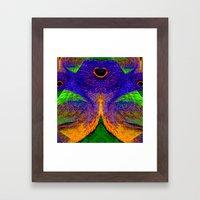 Internal Kaleidoscopic D… Framed Art Print