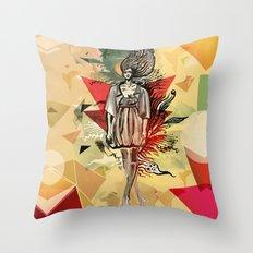 Summertime Dream Throw Pillow