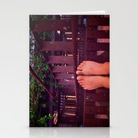 Because Stairs Are Climb… Stationery Cards