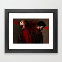 Two Sides Of The Same Co… Framed Art Print