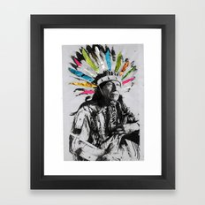 Natives Framed Art Print