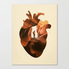 Heart Explorer Canvas Print