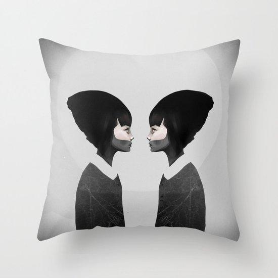 A Reflection Throw Pillow