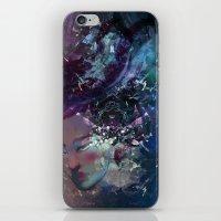 Black Hole Apprehension iPhone & iPod Skin