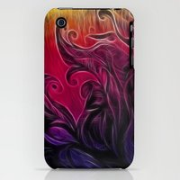 iPhone 3Gs & iPhone 3G Cases featuring The Colorful Garden by Melinda Firestone-White