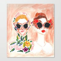Dolce and Gabbana Girls Canvas Print