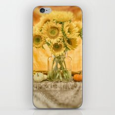 Simple Sunflowers Still Life -- Fall Colors iPhone & iPod Skin