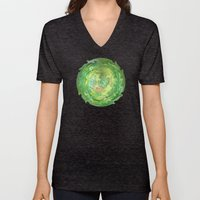 Greenwoods Abstract Unisex V-Neck