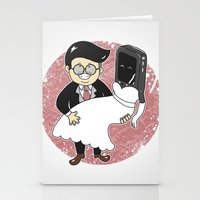 Geek in Love Stationery Cards
