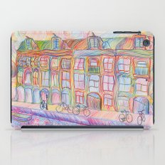 Wandering Amsterdam - Colored Pencil iPad Case
