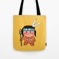 Little Red Indian Tote Bag