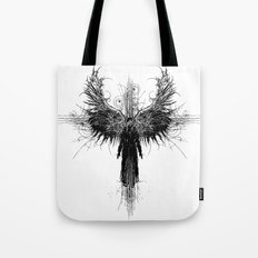 Particles and Angels Tote Bag