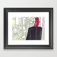 Quiet Rage Framed Art Print
