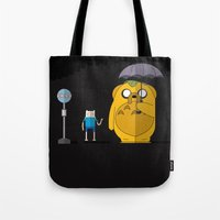 adventure time totoro Tote Bag