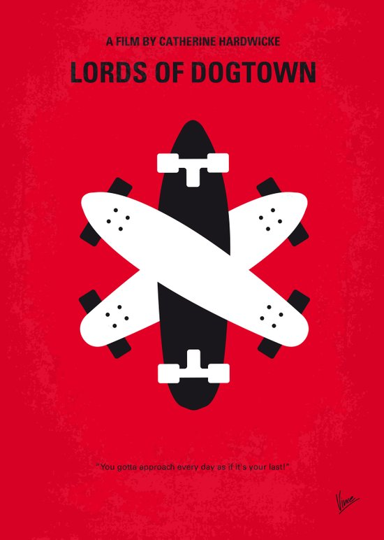 No188 My The Lords Of Dogtown minimal movie poster Art Print