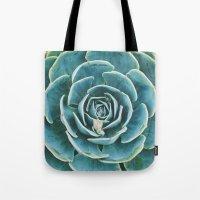 echeveria. succulent photo Tote Bag