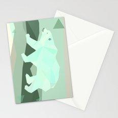 Polarygon Bear Stationery Cards