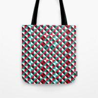 Typoptical Illusion A no.4 Tote Bag