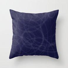 Circles galore Throw Pillow