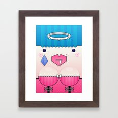 Candy the Valentine's Spirit Framed Art Print