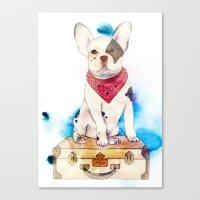 Bulldog Canvas Print