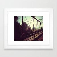 Resident Framed Art Print