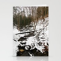 Downhill Stream  Stationery Cards