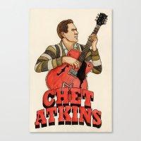 Chet Atkins Canvas Print
