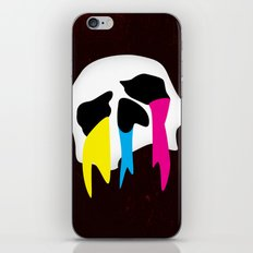 CMYK Death iPhone & iPod Skin