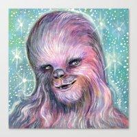 Pink Fur Canvas Print