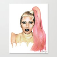 Government Hooker. Canvas Print