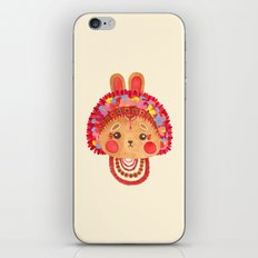 The Flower Crown Bunny iPhone & iPod Skin