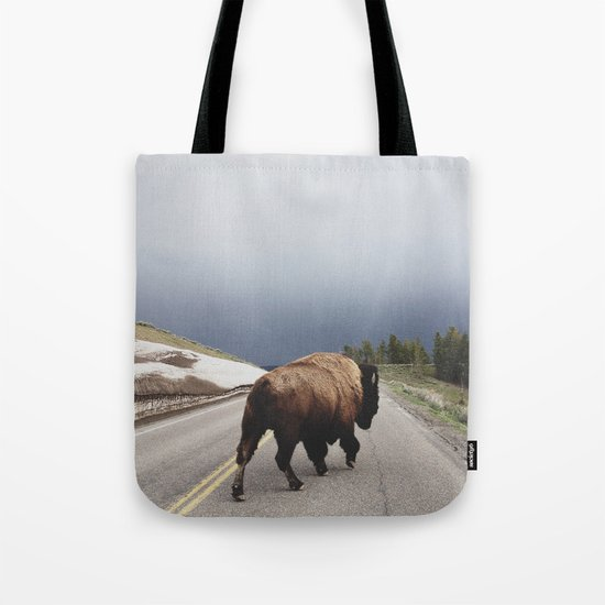 Street Walker Tote Bag