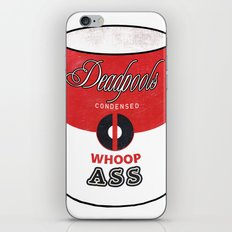 Deadpool's Can of Whoop-Ass! iPhone & iPod Skin