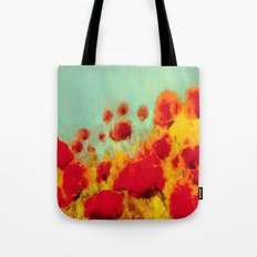 FLOWERS - Poppy time Tote Bag