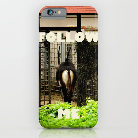 Follow me! iPhone & iPod Case