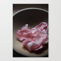 Rosebud Heart Canvas Print
